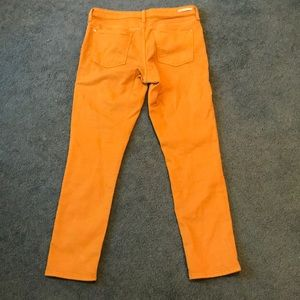 Anthropologie Colored Skinny Jeans